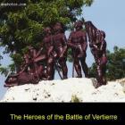 The Battle of Vertiere, near Cap-Haitian
