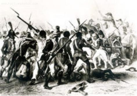 Scene from The Battle of Vertieres