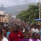 Manifestation against Kidnapping in Jacmel
