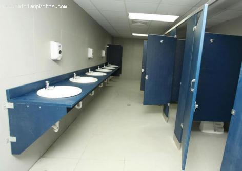 New Public Bathroom at Toussaint Louverture airport