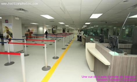 Newly redesigned Toussaint Louverture airport