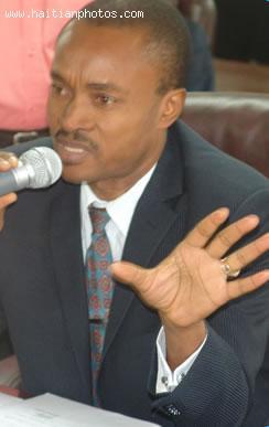 Picture of Haitian senator Francisco Delacruz