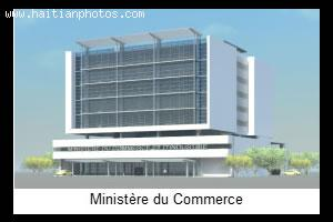 Ministry of Commerce Building Plan - Ministere du Commerce