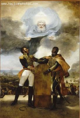 Serment des Ancetres Painting