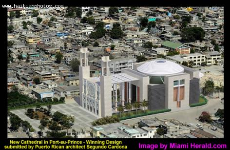 New Cathedral in Port-au-Prince
