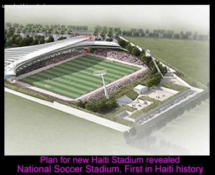 New Haiti National Soccer Stadium Plam
