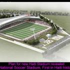 New Haiti National Soccer Stadium Plam