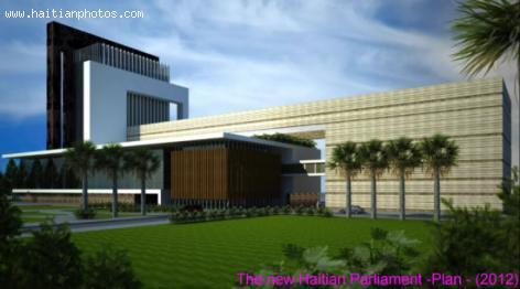 New Haitian Parliament, Plan in 2012