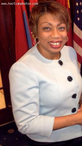 Dr. Bernice Fidelia, minister for Haitians Living Abroad