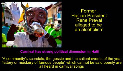 The political dimension in Haitian carnival