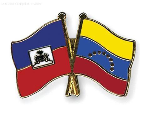 Flag of Venezuela and Jacmel, haiti