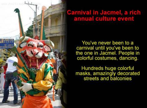 Jacmel Carnival or Kanaval