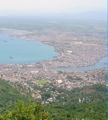 View of the city of Cap-Haitian