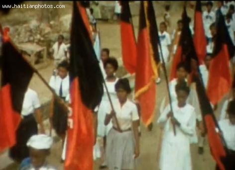 Fete du Drapeau in Cap-Haitian - 1964