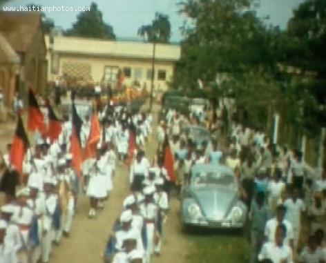 Haitian Flag Day in Cap-Haitien - May 18, 1964
