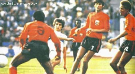 first rate 8f70c 13ded Haiti National soccer team, 1974