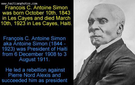 Antoine Simon, Haiti Leader
