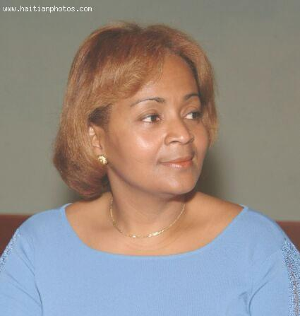 Dr. Maryse Narcisse, Coordinator of Fanmi Lavalas