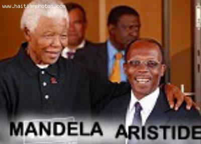 Jean Bertrand Aristide and Nelson Mandela