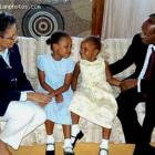 Jean-Bertrand Aristide, Mildred Aristide, Christine Aristide, Michaelle Aristide