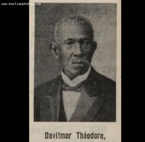 Haitian President Davilma Theodore
