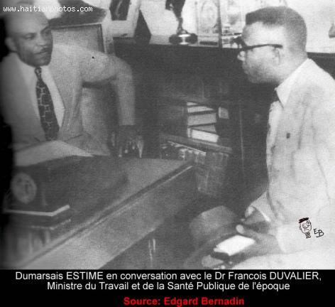 Dumarsais Estime and Francois Duvalier