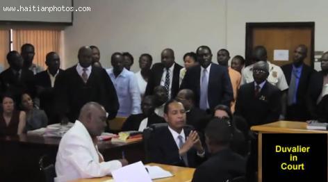 Jean Claude Duvalier Cour Hearing