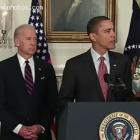 Vice-President Joe Biden And Barack Obama On Haiti Earthquake