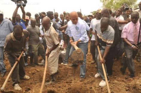Haitian President Michel Martelly involved in Kombit
