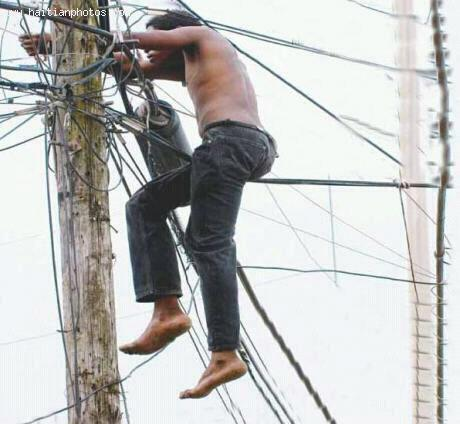 The problem of Illegal Electricity or Cumberland in Haiti