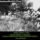 Haitian Kombit, a method of working the land