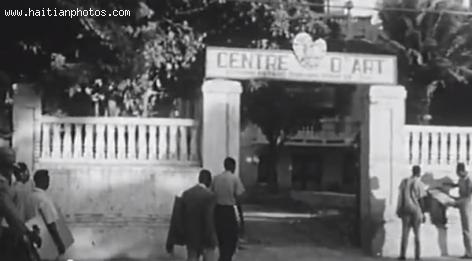 Centre D'Art Haitian in the 1950s