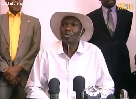 Former Haitian Senator Joseph Lambert on Deputy Levaillant Louis-Jeune