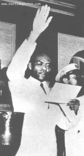Haiti former President, Leon Dumarsais Estime