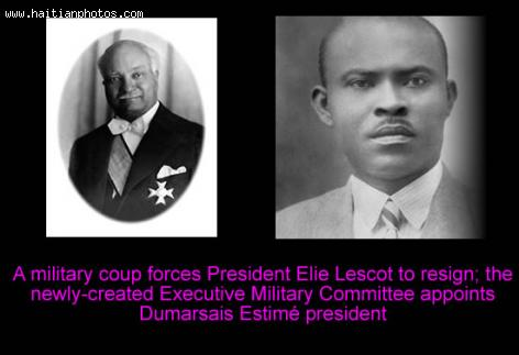 Elie Lescot  and Dumarsais Estime