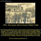 Elie Lescot, Stenio Vincent, Rafael Trujillo