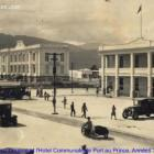 Douane an Hotel communale in Port-au-Prince, Elie Lescot