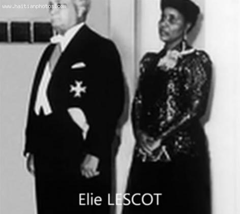 Elie Lescot and Wife