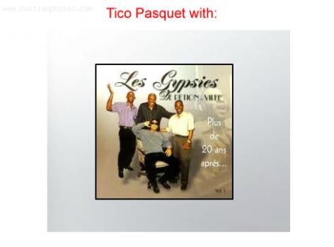 Tico Pasket , The Haitian musician with Les Gypsies de Petion-Ville