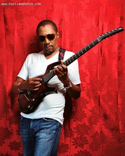 Legendary guitar player, Dadou Pasquet and magnum band