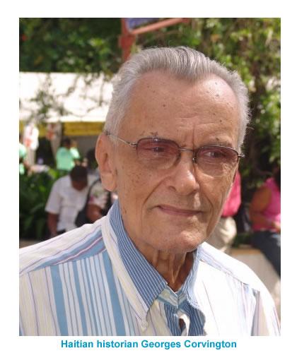 Haitian historian Georges Corvington