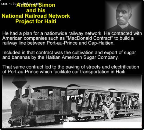 Antoine Simon and his National Railroad Project