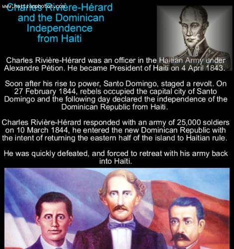 Charles Riviere-Herard and Independence of Dominican republic