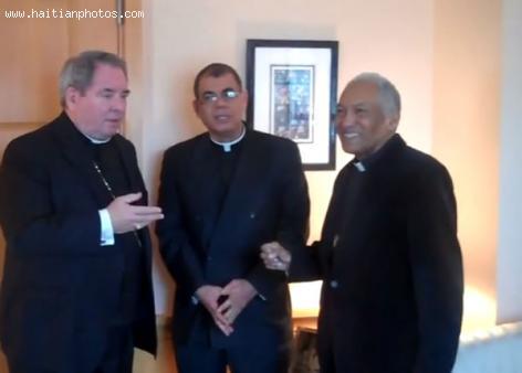 Haitian Bishop Francois-Wolff Ligonde