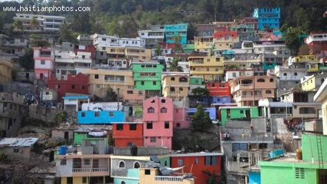 A picture of Jalousie Slum in Port-au-Prince