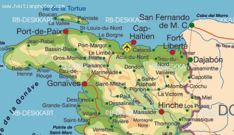 Fort Liberte Map