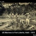 U.S. Marines in Fort Liberte in 1916
