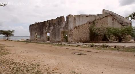 What is left of Dauphin Plantation in Fort Liberte, Haiti