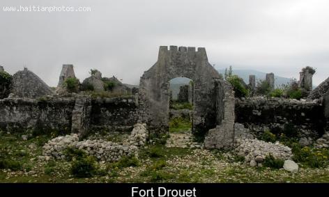 Fort Drouet in Haiti