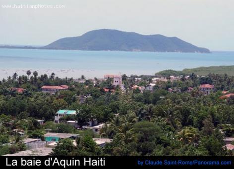 La baie d'Aquin Haiti